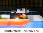 3d printer printing figure... | Shutterstock . vector #700937473