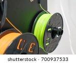 3d printing filaments | Shutterstock . vector #700937533