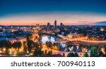 vilnius  lithuania  eastern... | Shutterstock . vector #700940113