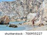firiplaka beach  milos island ... | Shutterstock . vector #700955227