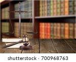 gavel. | Shutterstock . vector #700968763