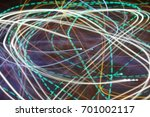 lighting effect  multicolored... | Shutterstock . vector #701002117
