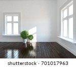 white room interior. 3d...   Shutterstock . vector #701017963