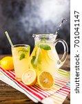jar of lemonade   Shutterstock . vector #701041147