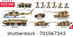 war army military vehicles set... | Shutterstock .eps vector #701067343