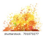 Color Background Of Paint...