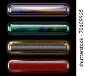 neon horizontal banner with... | Shutterstock . vector #70109935