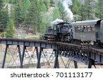 georgetown colorado usa june 6... | Shutterstock . vector #701113177