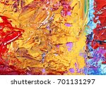 colorful abstract hand drawn... | Shutterstock . vector #701131297