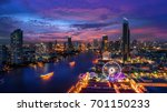 bangkok cityscape. bangkok... | Shutterstock . vector #701150233