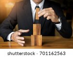 planning  risk and wealth... | Shutterstock . vector #701162563