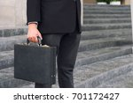 businessman standing and... | Shutterstock . vector #701172427