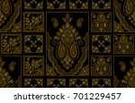 seamless traditional indian... | Shutterstock . vector #701229457
