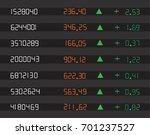 shares up  stock  market ... | Shutterstock .eps vector #701237527