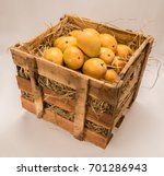 indian alphonso mango fruits... | Shutterstock . vector #701286943