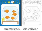 preschool worksheet for... | Shutterstock .eps vector #701293987