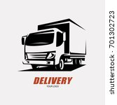 delivery and shipping service... | Shutterstock .eps vector #701302723