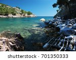 beautiful seaview on the... | Shutterstock . vector #701350333