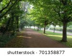 tow path early morning | Shutterstock . vector #701358877