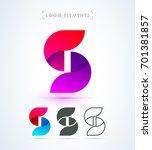 logo letter s template.... | Shutterstock .eps vector #701381857