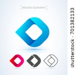 vector abstract logo template.... | Shutterstock .eps vector #701382133