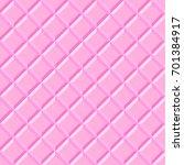 seamless pattern pink tiles.... | Shutterstock . vector #701384917