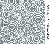 circle seamless pattern.... | Shutterstock .eps vector #701414527