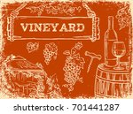 hand drawn vector illustration... | Shutterstock .eps vector #701441287