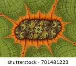 fractal created based on the... | Shutterstock . vector #701481223
