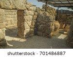 Small photo of potty pots in Necromanteio Ephyra Preveza Greece