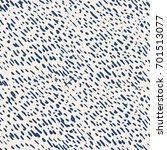 vector tie dye seamless pattern.... | Shutterstock .eps vector #701513077