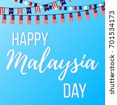 happy malaysia day. 16th...   Shutterstock .eps vector #701534173