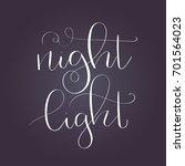 """night light""   modern... | Shutterstock .eps vector #701564023"