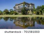 house reflection | Shutterstock . vector #701581003