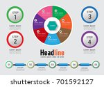 timeline vector  business... | Shutterstock .eps vector #701592127