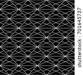 interlocking polygons... | Shutterstock .eps vector #701645737