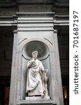 Small photo of Sculpture of Dante Alighieri