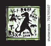 Dinosaur Roar Illustration  Te...