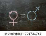 The female gender symbol is...