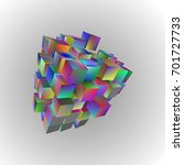 eps10. 3d illustration of basic ... | Shutterstock .eps vector #701727733