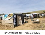 Small photo of Camp called Freedom installed by the Movement of Landless Rural Workers - MST in the municipality of Coronel Pacheco, state of Minas Gerais, Brazil.
