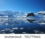 neko harbour reflection... | Shutterstock . vector #701779663