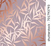 vector pattern with branches... | Shutterstock .eps vector #701793793