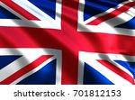 england flag. british flag. uk | Shutterstock . vector #701812153