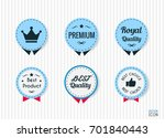 premium crown  royal quality... | Shutterstock .eps vector #701840443