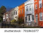 Colorful Townhouses Under...
