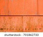 steel plate rust background.... | Shutterstock . vector #701862733