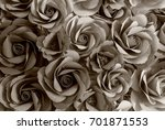 flowers from handmade | Shutterstock . vector #701871553