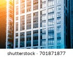 modern office building detail ... | Shutterstock . vector #701871877