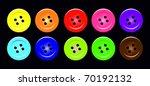 set of buttons | Shutterstock . vector #70192132